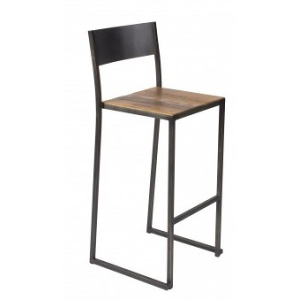 Industrial Restaurant Barstools Urban Farm Bar Stool