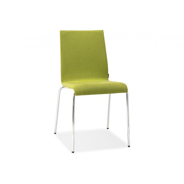 Pedrali Kuadra Upholstered Side Chair