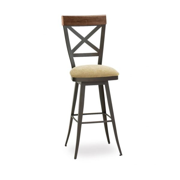 Kyle     41414-USDB Hospitality distressed metal bar stool