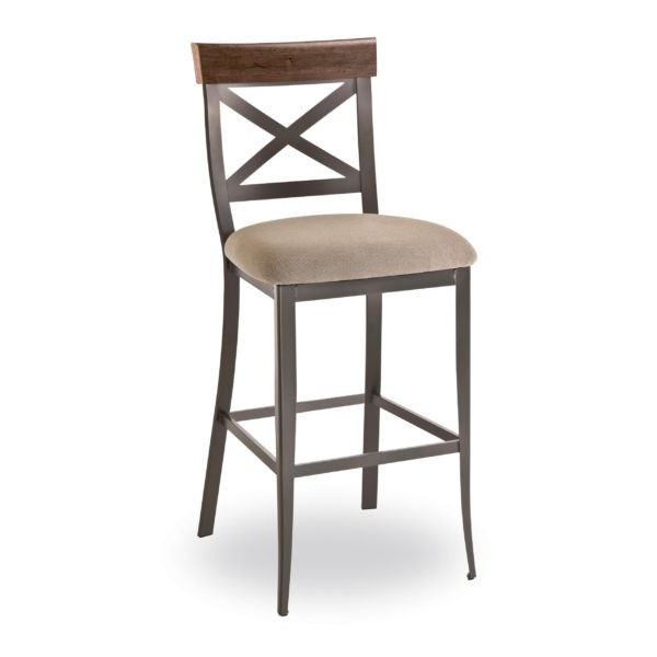 Kyle     49224-USDB Hospitality distressed metal bar stool