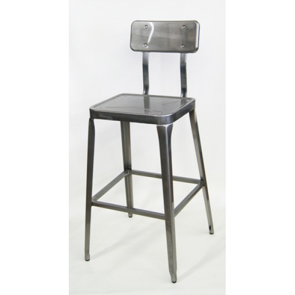 M7771BS Industrial commercial Restaurant Hospitality Franklin Dining Bar Stool Vintage