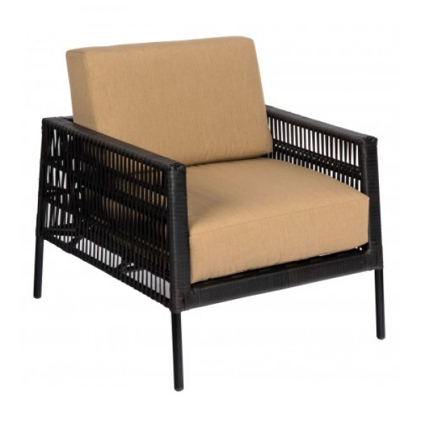 Maiz S526011Modern Outdoor Hotel Pool Lounge Commercial Woven Woven Upholstered Arm Chair