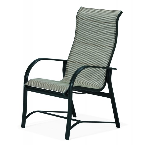 Mayfair Sling Ultimate High Back Arm Chair