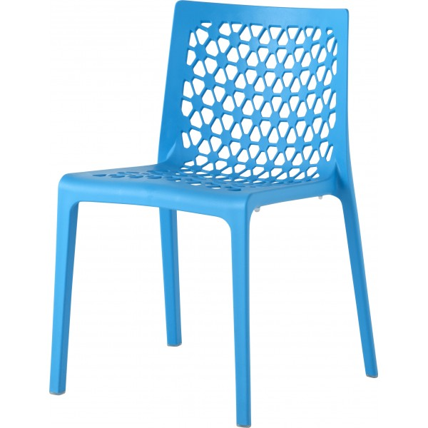 Milan Stacking Resin Hospitality Side Chair