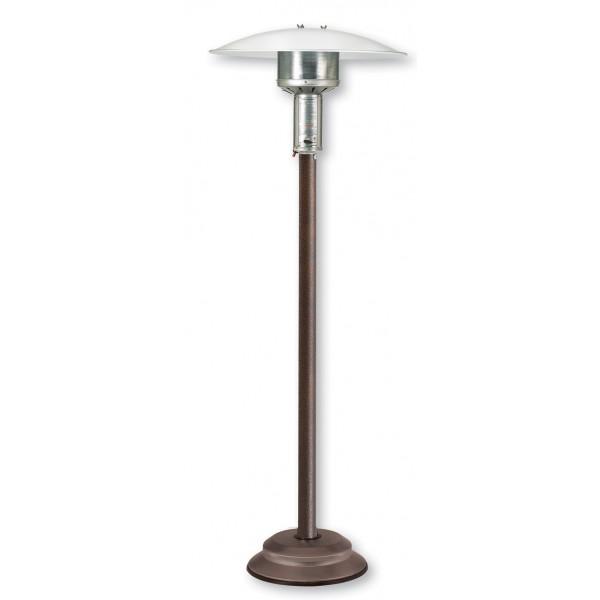 Natural Gas Patio Heater Antique Bronze with Push Button Ignition