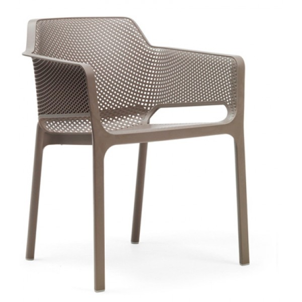 Net Arm Chair Tortora