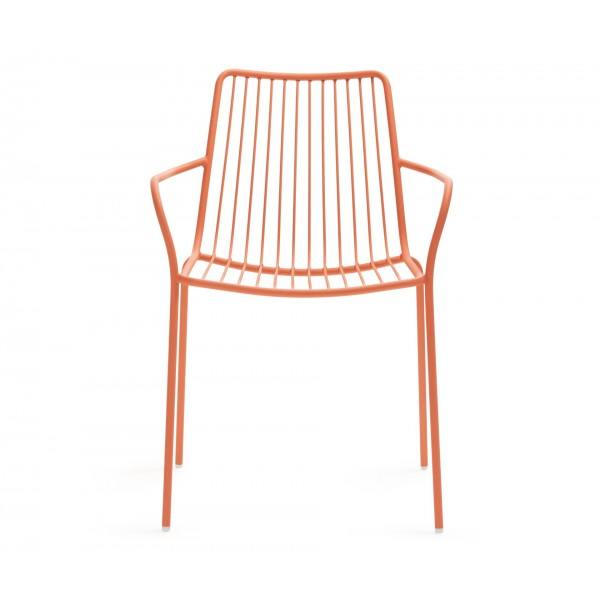 Pedrali Nolita High Back Stacking Arm Chair