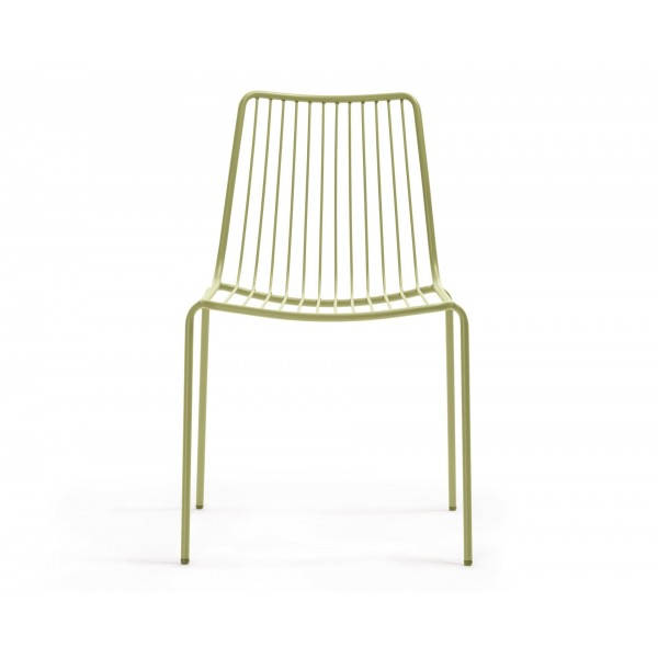 Pedrali Nolita High Back Stacking Side Chair