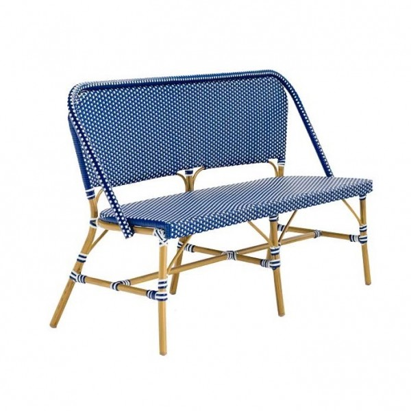 Outdoor Rattan Hospitality Bench Seating - Bastille