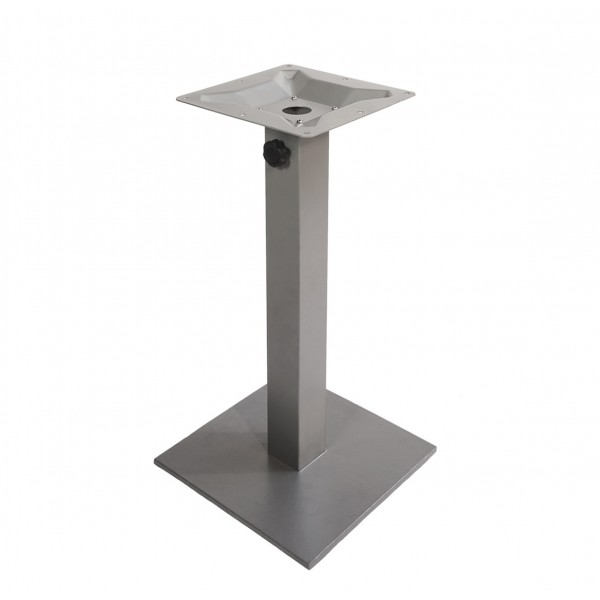 Platter Square Commercial Outdoor Patio Restaurant Table Base