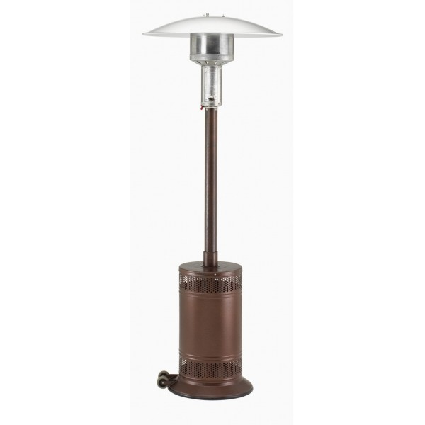 Propane Patio Heater Antique Bronze Cast Aluminum with Push Button Ignition