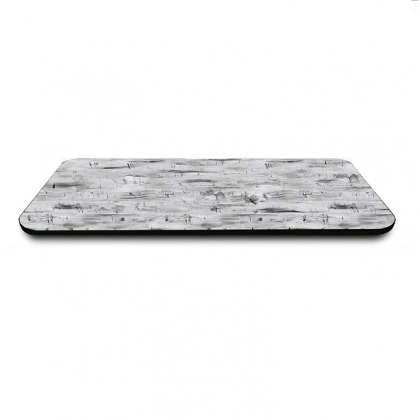 rectangle Rubber T-Mold edge indoor restaurant cafe bar hospitality table top