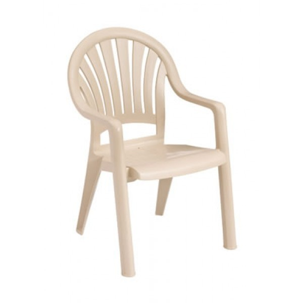 Restaurant Hospitality Outdoor Chairs Pacific Fanback Arm Chair