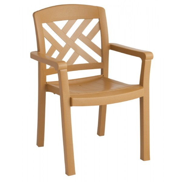 Restaurant Hospitality Outdoor Chairs Sanibel Stacking Dining Arm Chair
