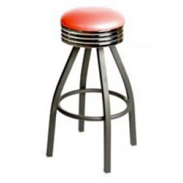 Fabulous Retro Bar Stool With Black Powder Coat Frame Red Sl2137 Red Onthecornerstone Fun Painted Chair Ideas Images Onthecornerstoneorg