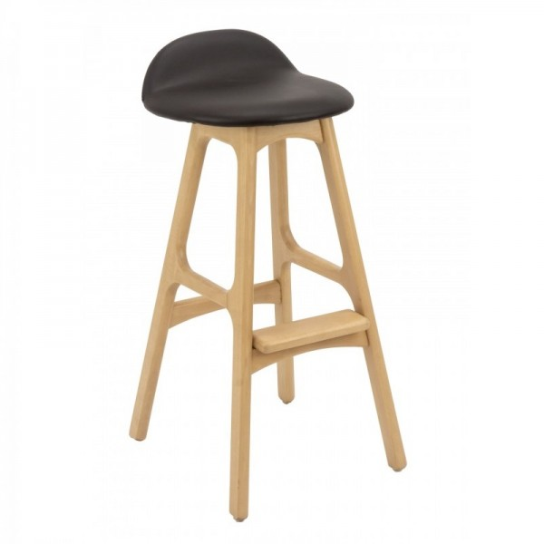 rv-mod-Mod  Mid Century Modern European Beechwood Commercial Hospitality backless Bar Stool