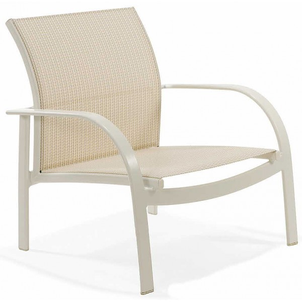 Scandia Relaxed Sling Stacking Spa Chair