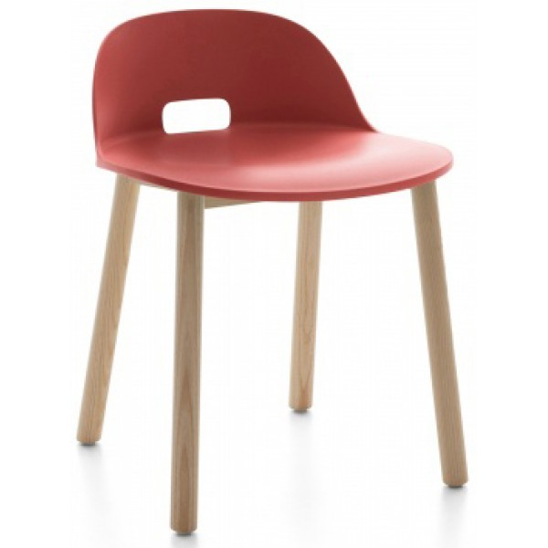 Schoolhouse Chic Restaurant Hospitality Seating Alfi Low Back Chair