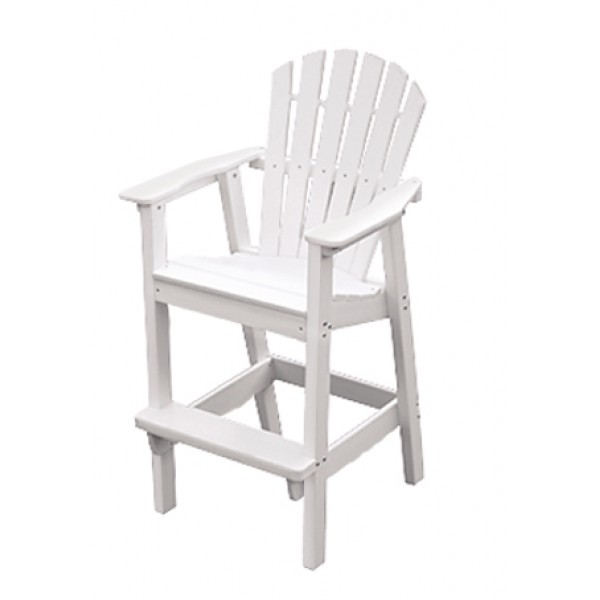 Shell Back Bar Chair-Stool