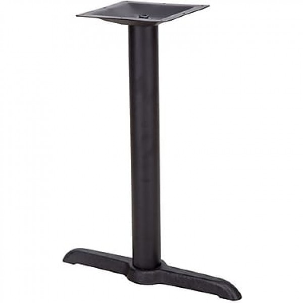 SS Series Commercial Restaurant Cast Iron T Table Base for ADA