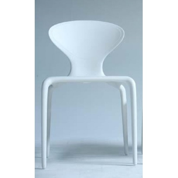 Supernatural Stacking Resin Side Chair - Solid