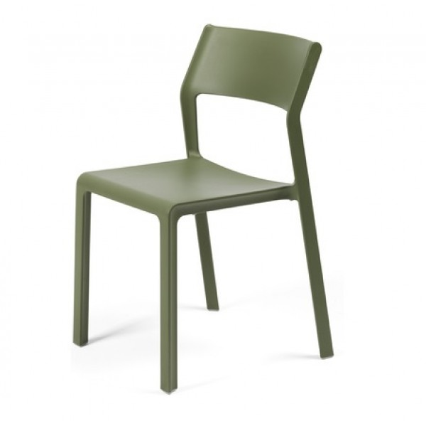 Nardi Trill Bistrot Stackable Resin Hospitality Side Chair