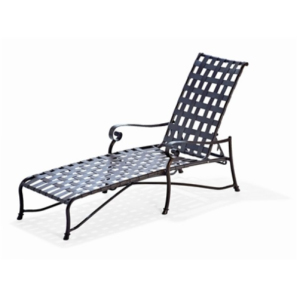 Vallero Crossweave Chaise Lounge
