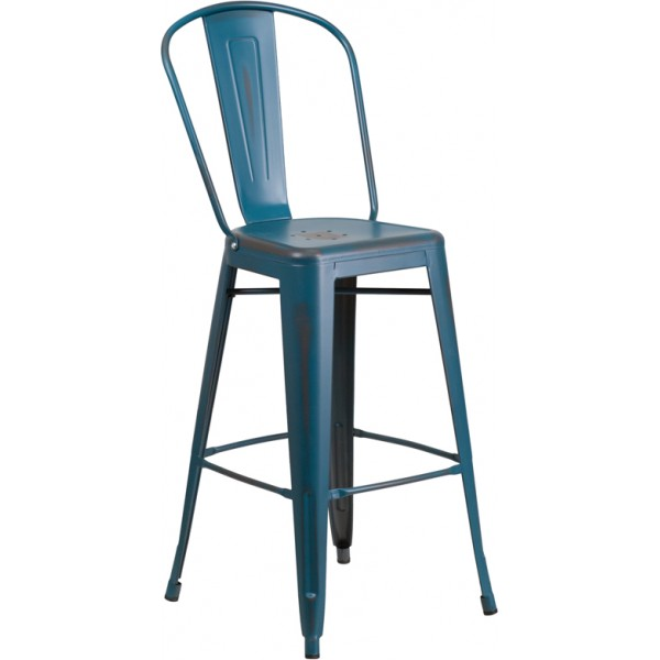 Westinghouse Distressed Bar Stool
