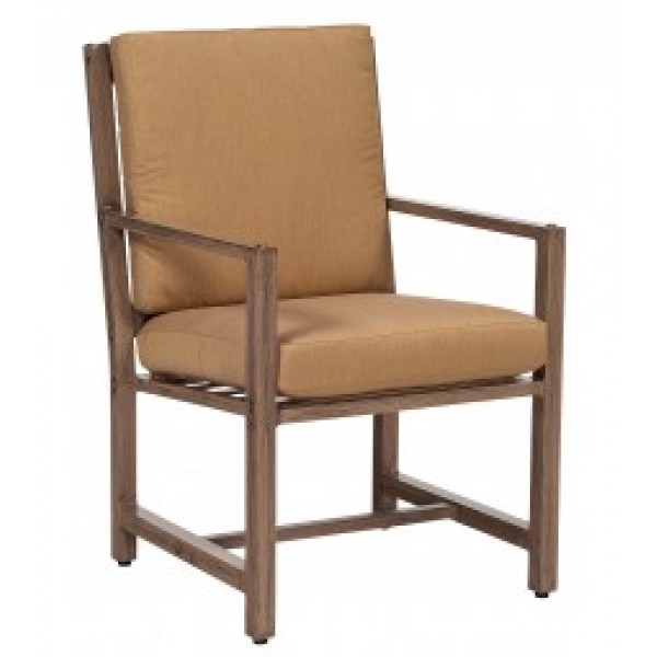 Woodlands Dining Arm Chair With Cushion