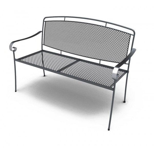 Wrought Iron Hospitality Benches Henley Bench