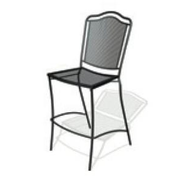 Wrought Iron Restaurant Barstools Newport Bar Stool