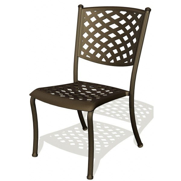 Wrought Iron Restaurant Chairs Madrid Side Chair