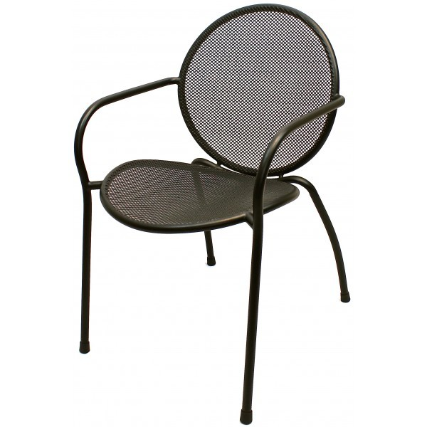 Wrought Iron Restaurant Chairs Metro Dining Chair