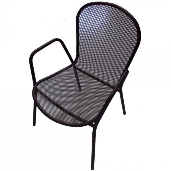 Wrought Iron Restaurant Chairs Rockport Arm Chair