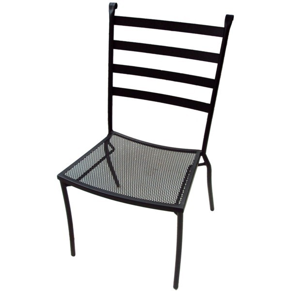 Wrought Iron Restaurant Chairs Terrace Side Chair