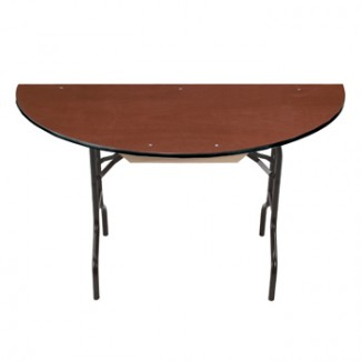 "30"" Half Round Folding Banquet Table"