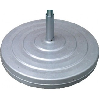 120lb Aluminum Umbrella Base with Fillcap