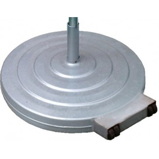 120lb Aluminum Umbrella Base with Wheels