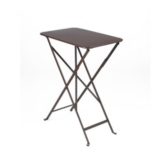 "15"" x 22"" Folding Bistro Table without Parasol Hole"