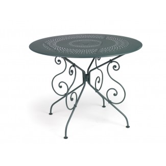 "1900 38"" Round Bistro Table with Parasol Hole"