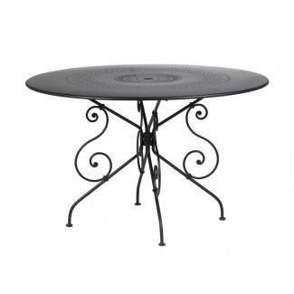 "1900 46"" Round Bistro Table with Parasol Hole"