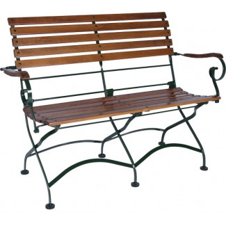 2-Seat Bench with Arms