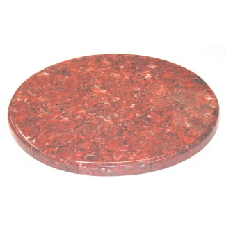 "20"" Round Faux Marble Table Top with 1.25"" Edge"