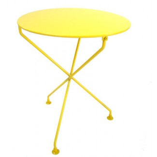 "24"" Round Metal Bistro Table"