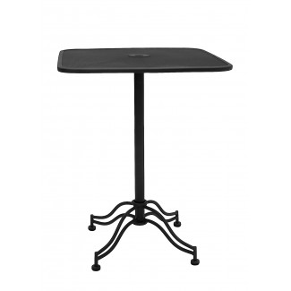 "24"" Square Micro Mesh Restaurant Table"