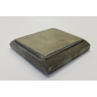 "24"" x 30"" Concrete Artisan Table Top with Rebar Edge"