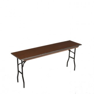 banquet tables 24 x 72 rectangular standard seminar folding table. Black Bedroom Furniture Sets. Home Design Ideas