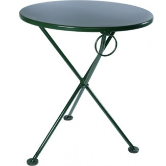 "28"" Round Metal Bistro Table"