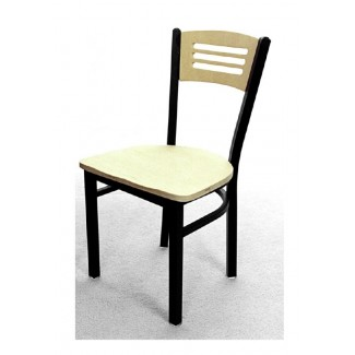 3 Line Wood Back Dining Chair SL2150-3