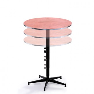 "30"" Round Adjustable Height Cocktail Table"